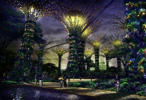 Vertical Garden Singapore Eclectitude Supertrees In Singapore Vertical Gardens Go