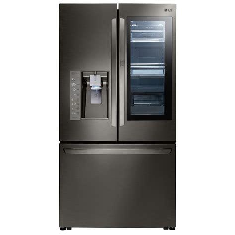 cabinet depth french door refrigerator lfxc24796d lg appliances 24 counter depth french door