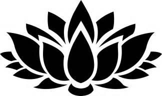 Lotus Flower Silhouette Clipart Lotus Flower Silhouette 6