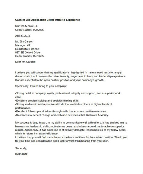 application letter of a with no experience 40 application letters format free premium templates