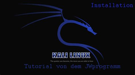 kali linux tutorial videos youtube playlist basics kali linux installieren tutorial deutsch hd youtube