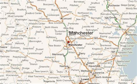 manchester new hshire map manchester new hshire location guide