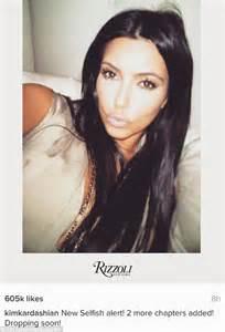 kim kardashian book selfish kim kardashian reveals she is expanding selfie book