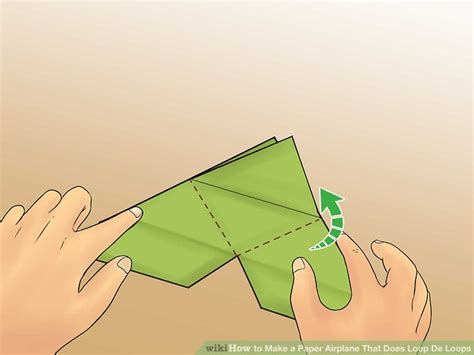 How To Make A Paper Airplane That Loops - how to make a paper airplane that does loop de loops 7 steps