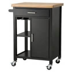 Kitchen Storage Carts Cabinets Black Kitchen Microwave Storage Rolling Cart On Wheels W Shelves Cabinet Ebay
