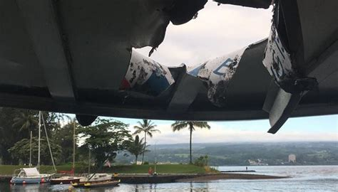 hawaiian word for boat lava bomb flies into hawaiian tour boat injures 23