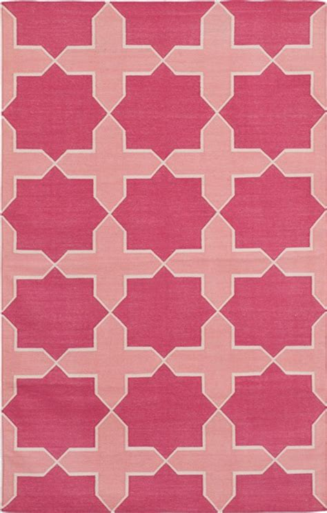 Pink Dhurrie Rug by High Vs Low Dhurrie Rugs For The Nursery