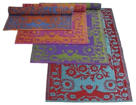 Double Color Oriental Outdoor Plastic Rugs Outdoor Plastic Rugs
