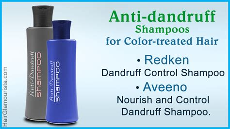 best products for color treated hair an assortment of best dandruff shoos for color treated hair