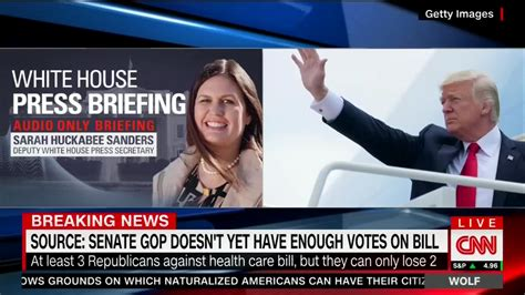 gop healthcare plan reporter to sanders what s your reaction to lefty fears