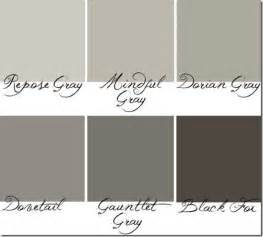 greige sherwin williams sw7015 sw7020 or repose grey to black fox paint it