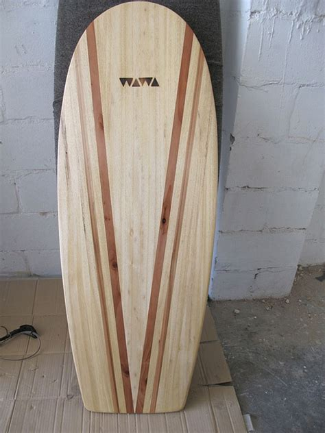 Handmade Wooden Surfboards - wawa paipo wood surfboard handmade handcraft surf