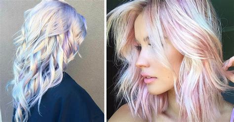 The Hair Trend Are You In by Holographic Hair Is The New Trend Of 2017
