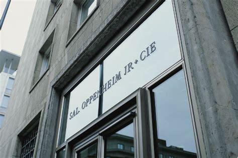 bank sal oppenheim sal oppenheim deutsche bank interessiert