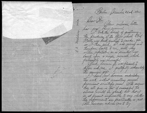 Graham Bell Essay by Graham Bell Family Papers At The Library Of Congress Graham Bell Family
