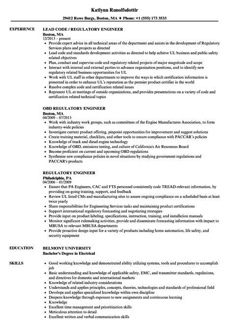 Regulatory Test Engineer Sle Resume by Regulatory Test Engineer Sle Resume Free Manual Templates Microsoft Word Lease