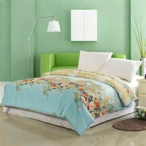 Summer Quilt King Summer Style Floral King Size Bedding Set Duvet Cover Bed