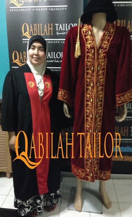 Baju Sekolah Phd pakar jahitan pakaian jubah konvo graduation gowns