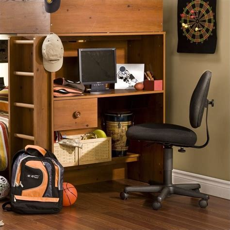 south shore desk with hutch south shore logik wood loft desk with hutch in sunny pine