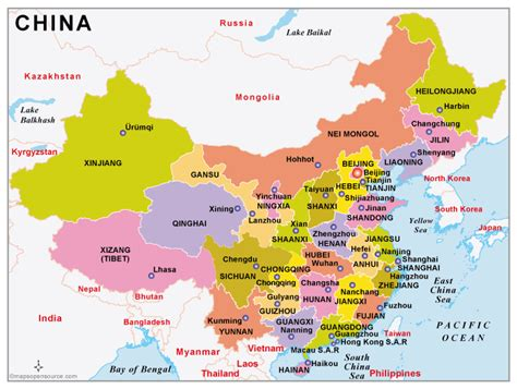 china country profile  maps  china open source