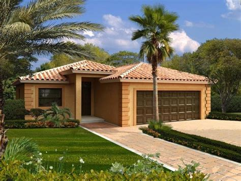 mediterranean style house plan 2 beds 2 baths 1000 sq ft 3 bedroom 2 bath mediterranean house plan alp 0164