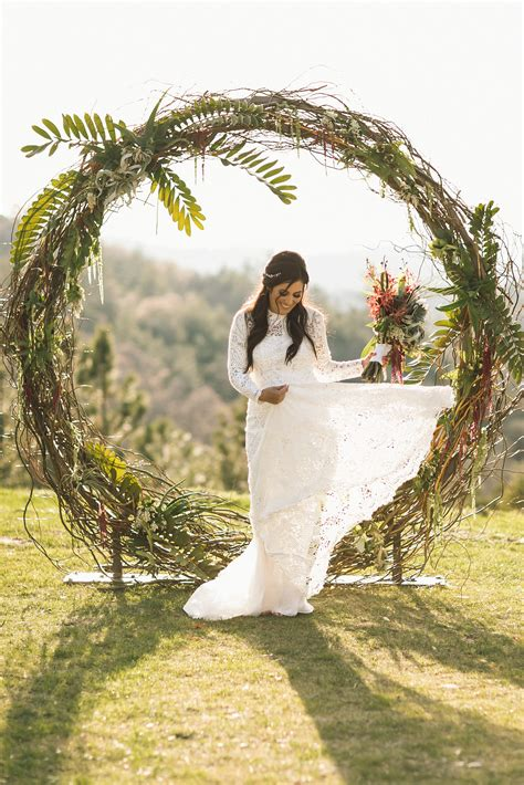 Wedding Arch Stand by Circle And Semi Circle Arch Wedding Rentals In