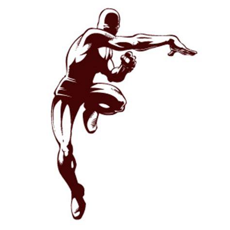 Retro Dining Room Superhero Action Pose 171 My Wall Skins