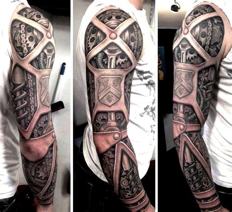 13 awesome steampunk tattoos steampunk tattoos and body