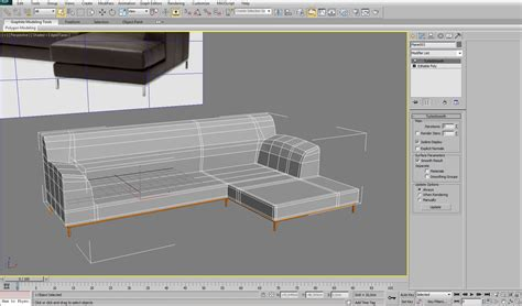3d max sofa tutorial 3ds max modeling modelling an interior sofa using 3ds max