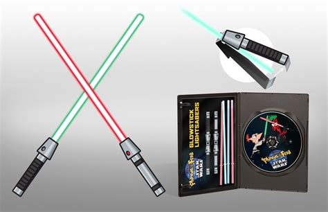 Wars Lightsaber Papercraft - phineas and ferb wars rowley graphics