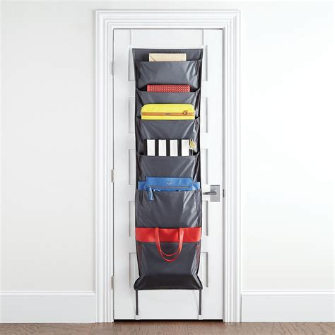 over the door organizer umbra niche over the door accessory organizer the