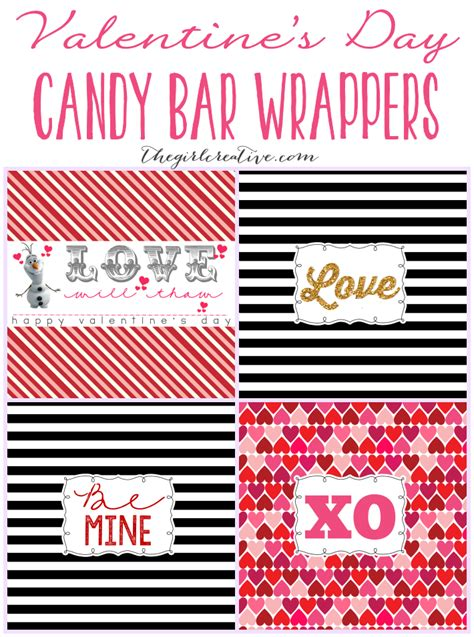 valentines cards for size bar template s day bar wrappers the creative