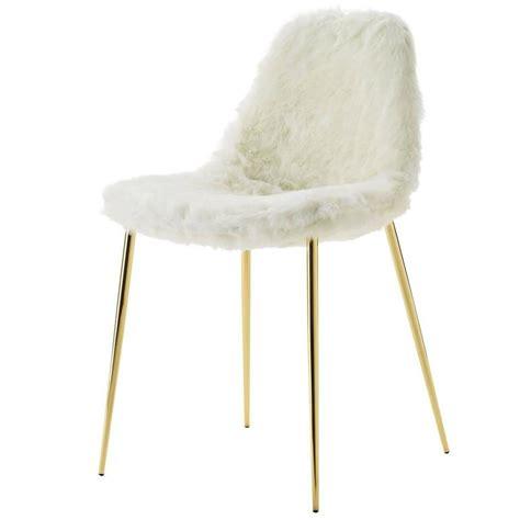 White Fur Chair mammamia white fur chair for sale at 1stdibs