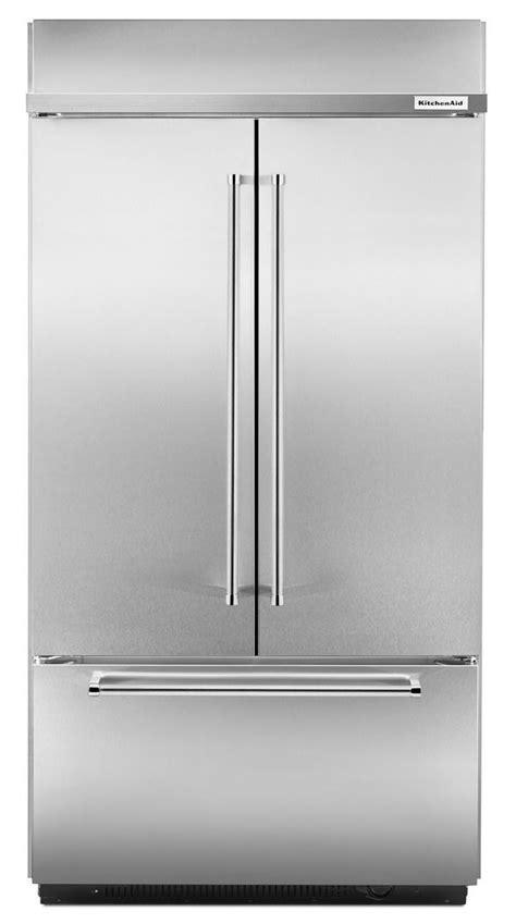 Kitchenaid Refrigerator Buildup Kitchenaid Built In Door Refrigerator Kbfn402ess