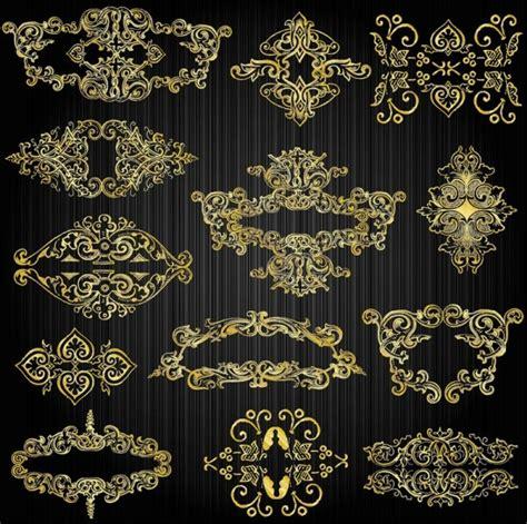 gold pattern free download gold pattern vector www pixshark com images galleries