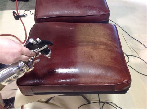 Restoring A Leather by Leather Restoration Furniture Pros