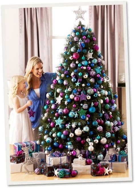 purple decorated tree purple decorated tree designcorner