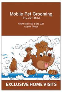 mobile pet grooming flyer design template sfl 1092