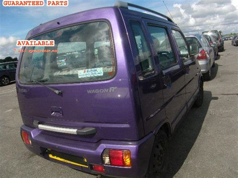 Sparepart Suzuki Wagon R suzuki wagon r breakers suzuki wagon r spare car parts
