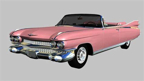 1959 Cadillac Eldorado Biarritz Convertible by 3d Model Cadillac Eldorado Biarritz Convertible 1959