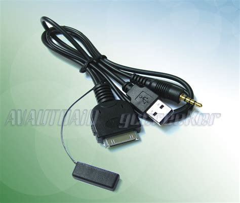iphone f cable ipod iphone av cable adapter for kenwood ddx 418 multimedia headunit kca ip22f ebay