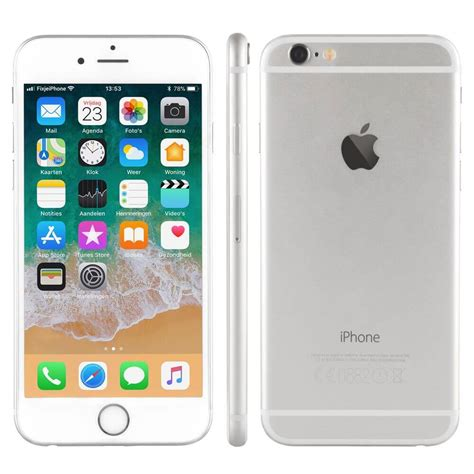 refurbished iphone 6 zilver 64 gb kopen fixjeiphone nl