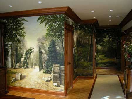 home design interior decorative wall painting
