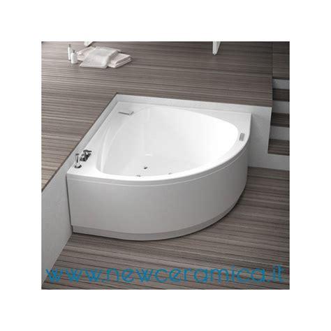 vasca angolare 140x140 con idromassaggio grandform