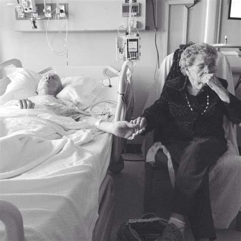 can t last long in bed beautiful photo captures elderly couple s enduring love