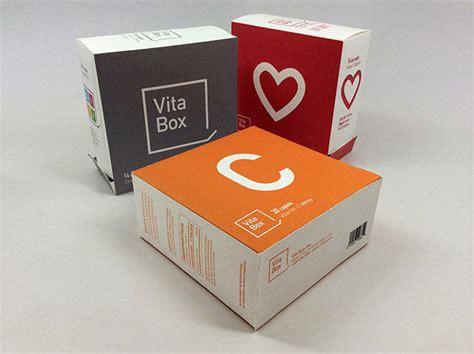 boxed layout inspiration independent vitamin packaging vita box