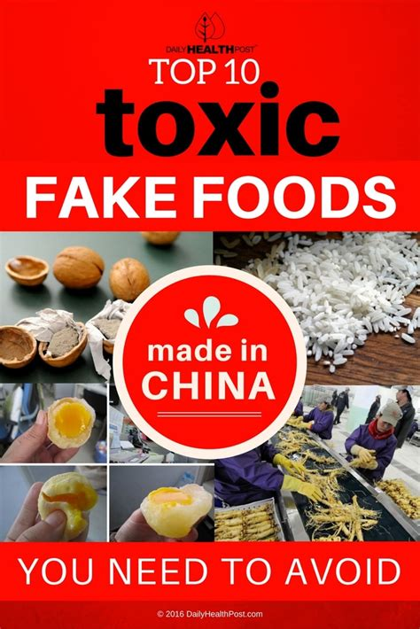 7 Foods To Avoid When Youre by Top 10 Toxic Foods Made In China You Need To Avoid