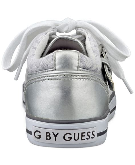 G by guess Women'S Oulala Sneakers in Metallic   Lyst G By Guess Logo
