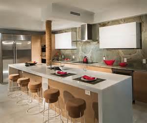 Impressionnant Ilot Central Cuisine Leroy Merlin #8: cuisine-ilot-de-comptoir-appart-luxe.jpg
