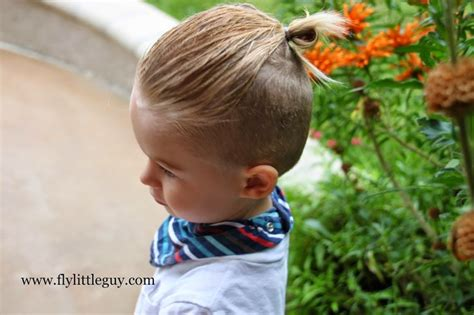 hairstyle tutorials boys fly little guy boys hair tutorial the man bun fly